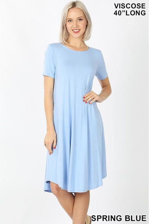 Comfy T Shirt Dress - RMC Boutique