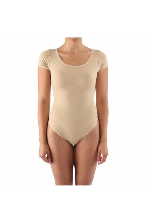 ITZON - BSD01 Bodysuit, Nude - RMC Boutique