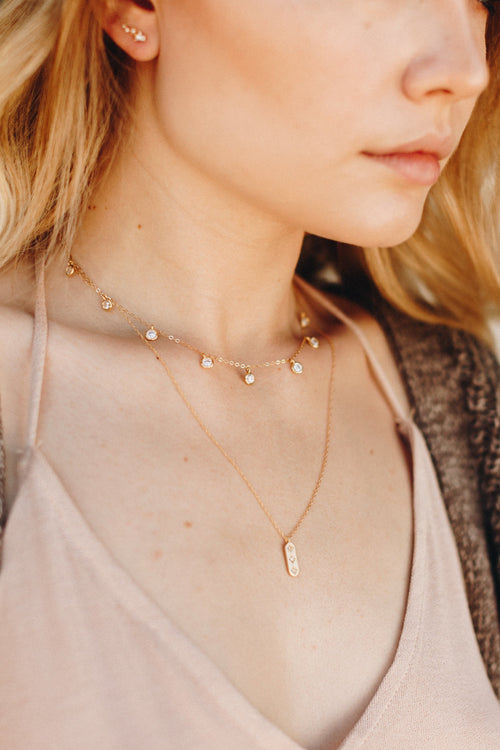 Wander + Lust Jewelry - The Nightsky Choker