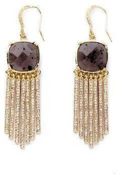 Bianca Crystal Tassel Earrings