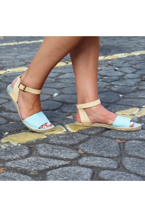 Sky Blue Espadrilles Wedges - RMC Boutique