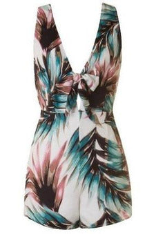 Kendall's Tropical Breeze Romper - RMC Boutique