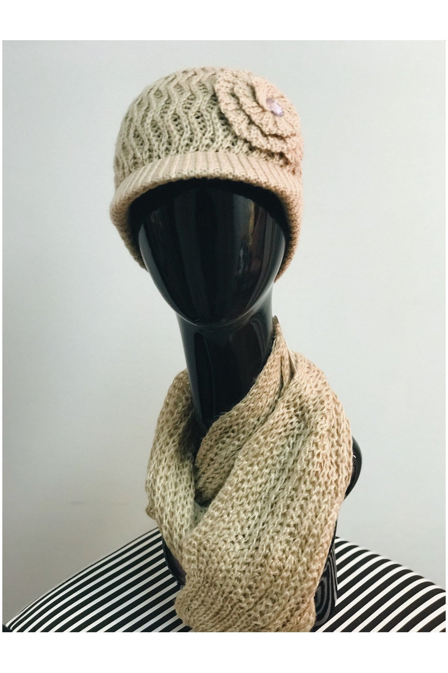 Knit Hat and Scarf Set - RMC Boutique