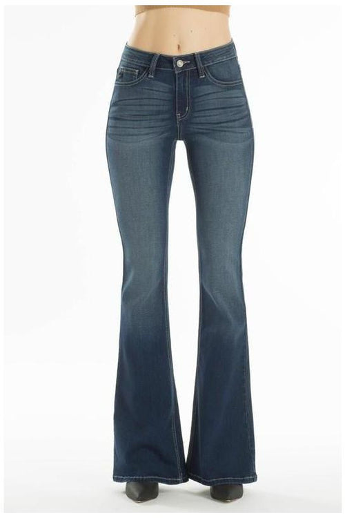 KanCan Jeans: Distressed Flared Jeans