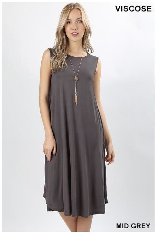 Sleeveless Out And About Shift Dress, New Colors