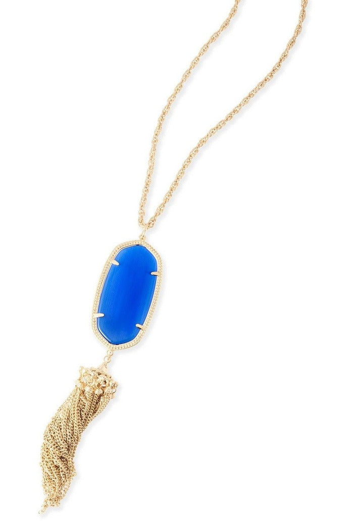Kendra Scott: Rayne Necklace In Cobalt