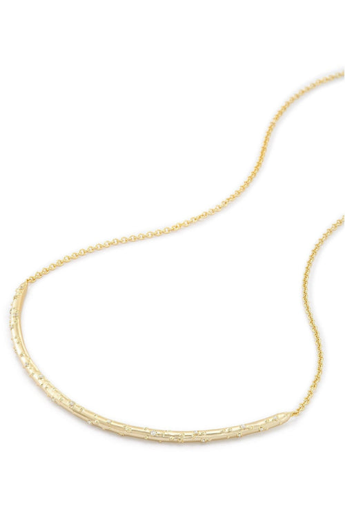 Kendra Scott: Amber Choker Necklace In Gold