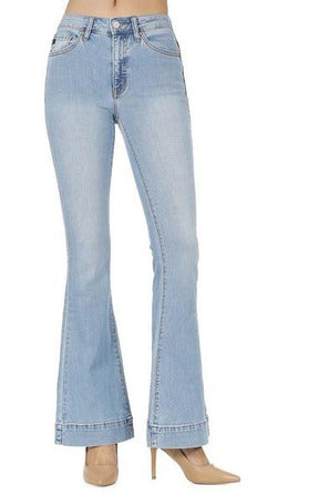 Kan Can USA: High Rise Flare Jeans - KC8411L - RMC Boutique