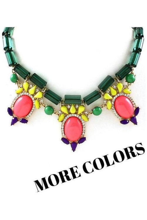 Electic Statement Necklace - RMC Boutique