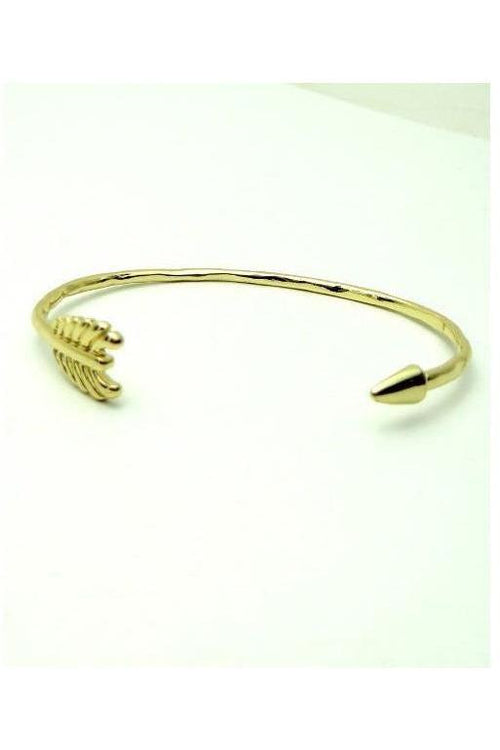 Arrow Bangle, Gold - RMC Boutique
