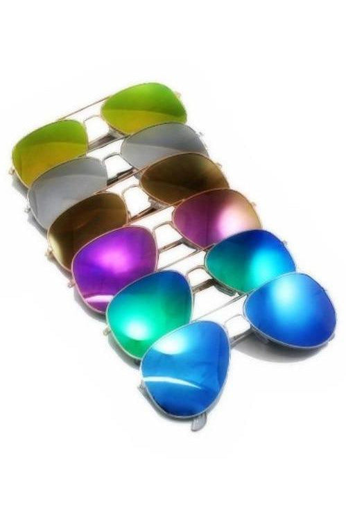 Aviator Mirroed Sunnies - RMC Boutique
