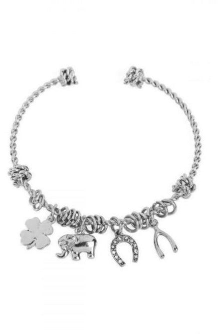 Lucky You Charm Bracelet - RMC Boutique