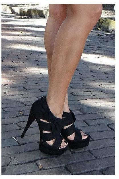 Pretty Bow Pump - RMC Boutique