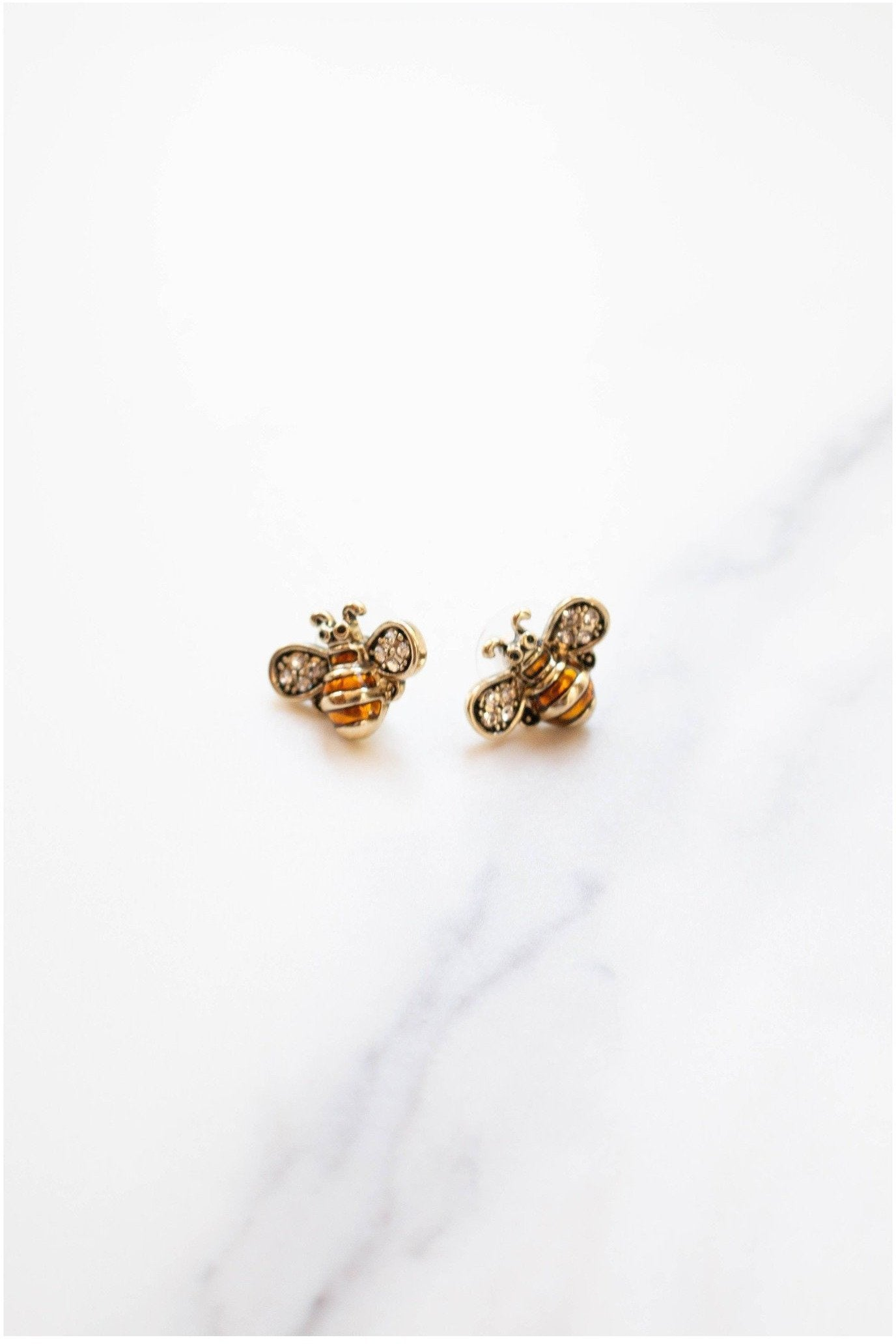 Bee Happy Studs