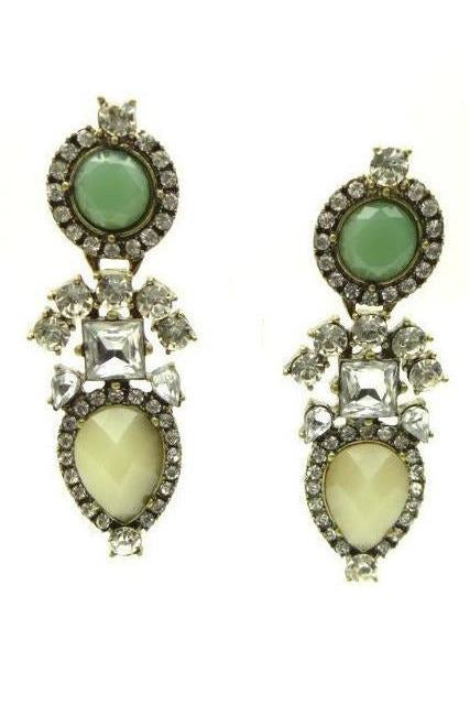 Bella Vita Statement Earrings - RMC Boutique