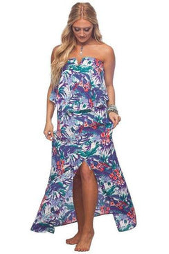 Buddy Love: Sangria Maxi Dress- Lanai