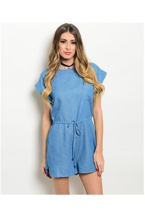 Denim Romper - RMC Boutique