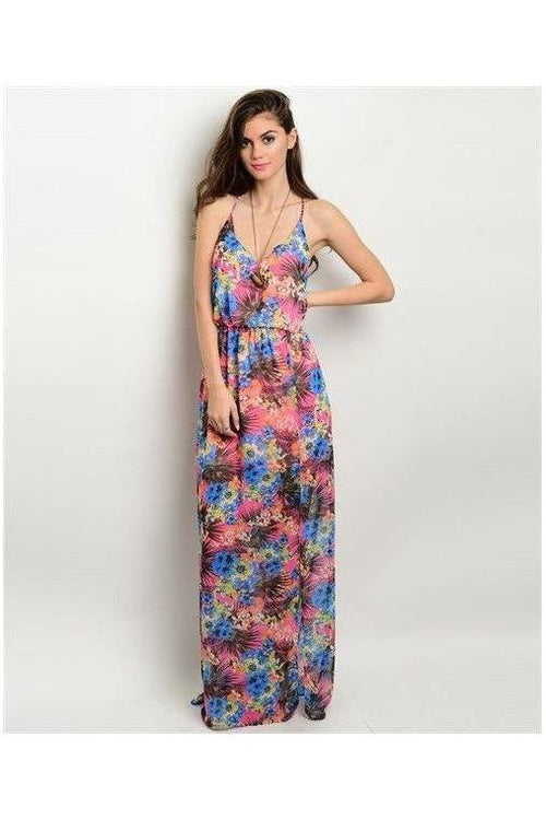 """Dreaming In Color"" Maxi Dress - RMC Boutique"