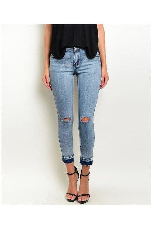 Dressed to Distressed Denim Jeans - RMC Boutique