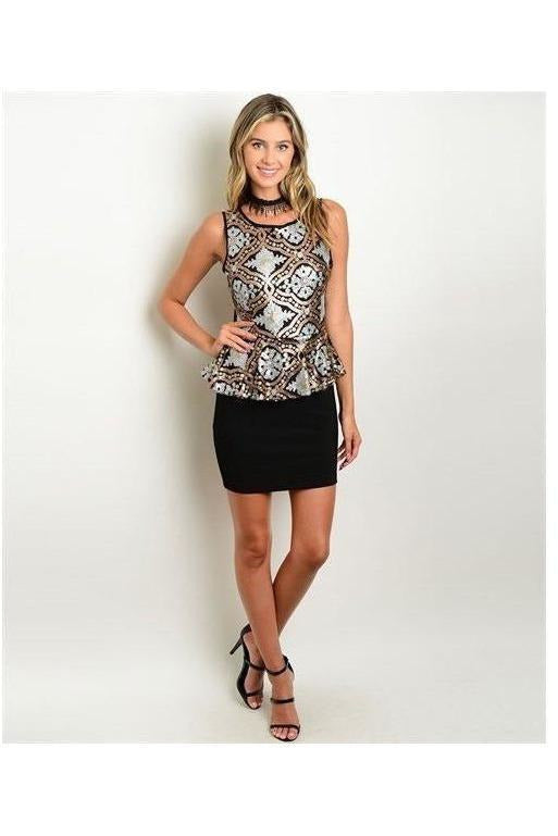 Sparkling Sequin Dress - RMC Boutique