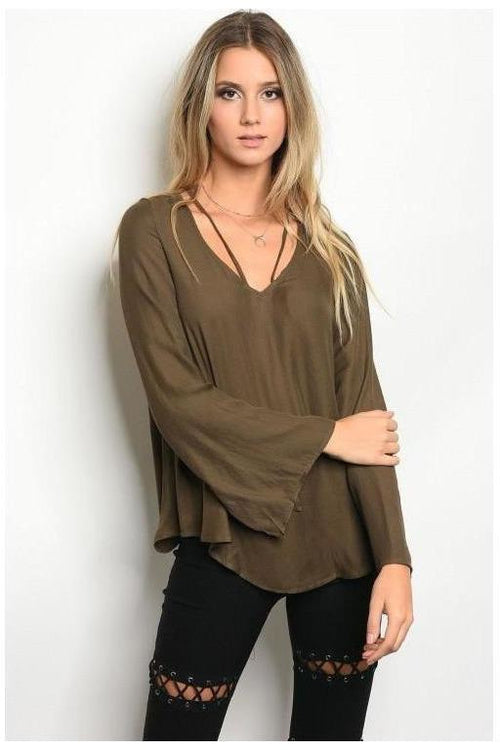 Bell Sleeve Beaut Top