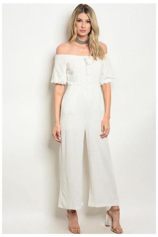 Coastal Sunrise Cotton Jumpsuit