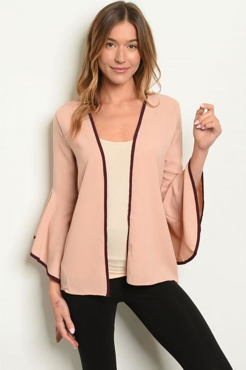 Bell Sleeve Open Cardigan - RMC Boutique