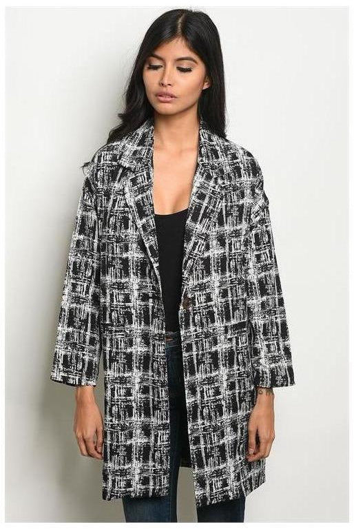 Abstract City Vibes Blazer - RMC Boutique