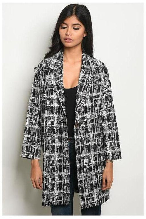 Abstract City Vibes Blazer