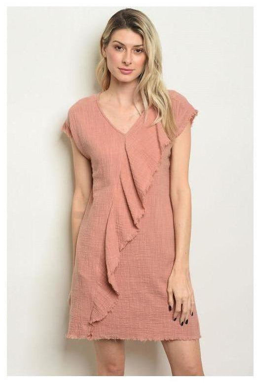 All In The Details Blush Dress