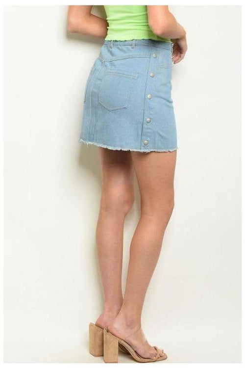 Denim Mini Skirt - RMC Boutique