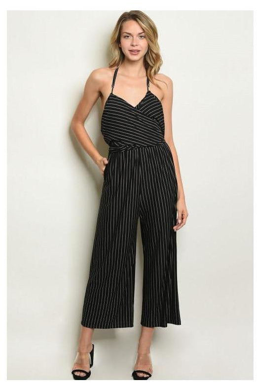 Striped Perfection Jumpsuit