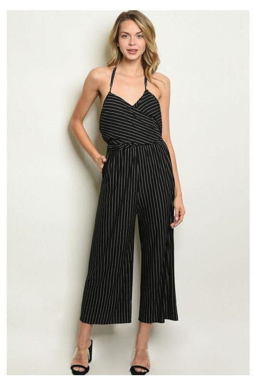 Striped Perfection Jumpsuit - RMC Boutique