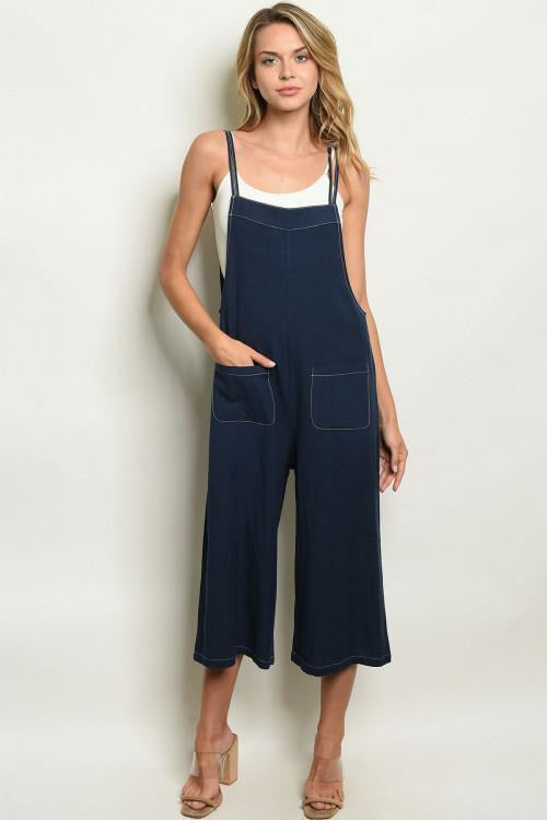 Navy Overall/Jumpsuit