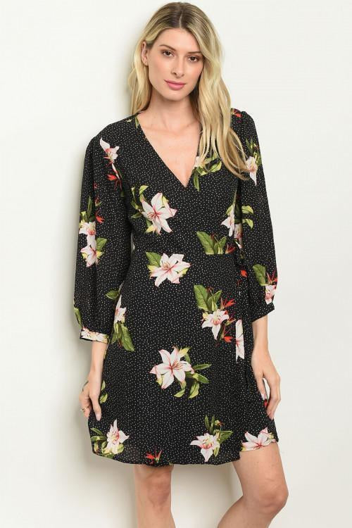 Celebration Wrap Dress
