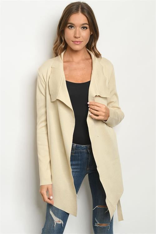 Tan Cardigan - RMC Boutique