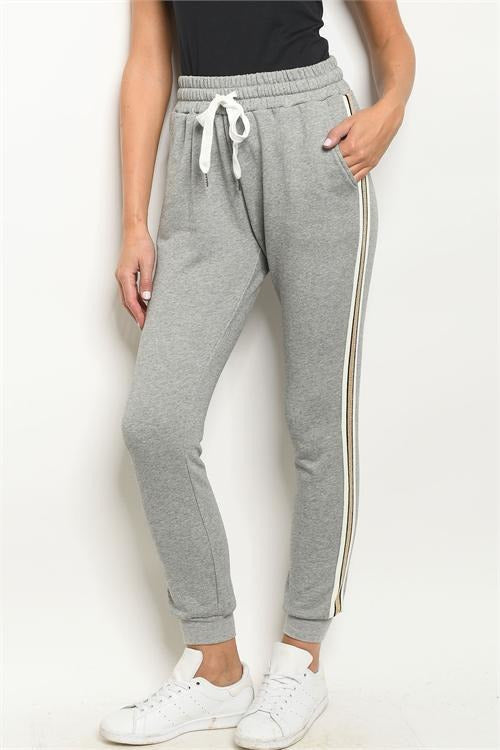 Soft Lounge Joggers, Gray - RMC Boutique