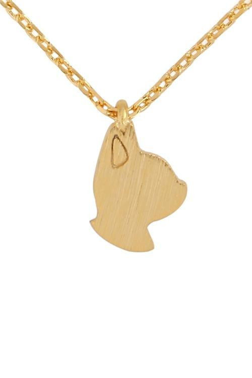 Cat Lover Momma Necklace, Gold Tone - RMC Boutique