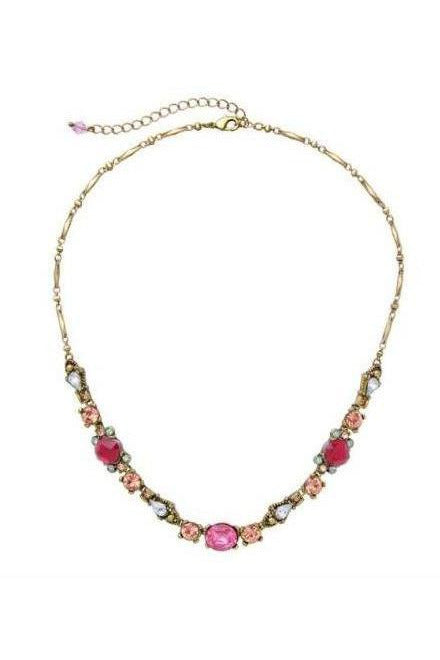 Colorful Sparkle Collar Necklace