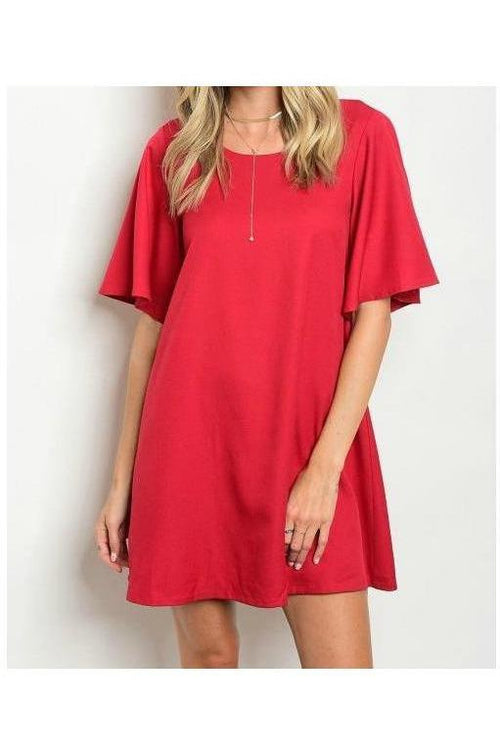 Wild Nights, Wine Tunic Dress
