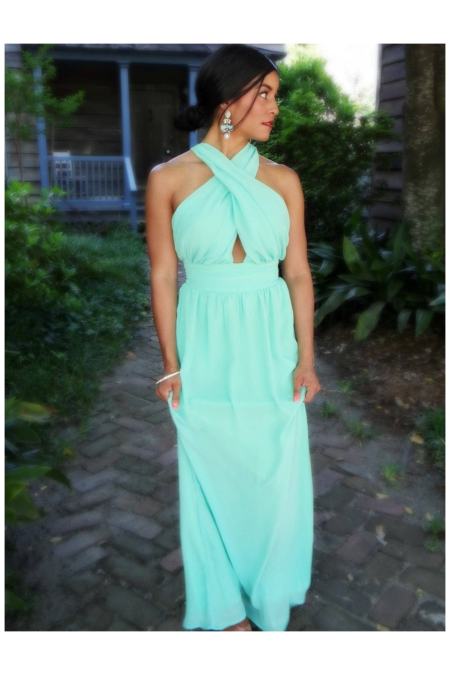 The Soiree' Dress - Garden - RMC Boutique