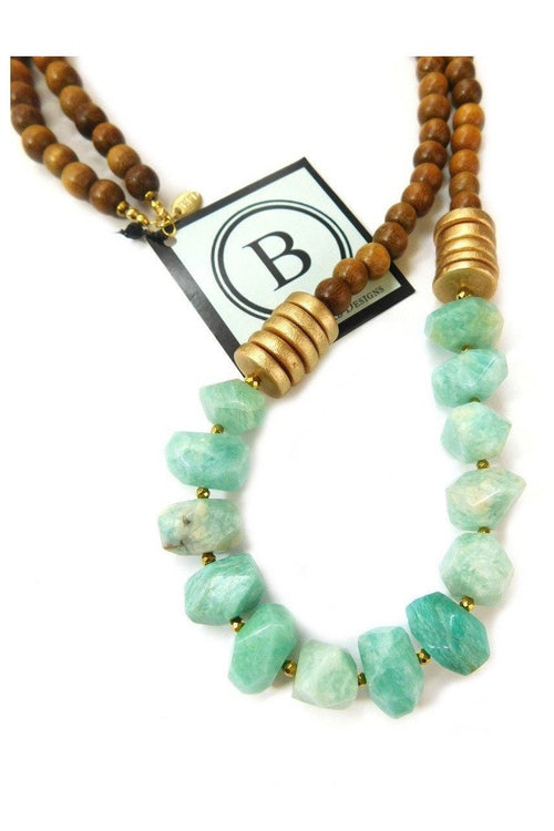 Betsy Pittard Designs: Angelica Necklace - RMC Boutique  - 1