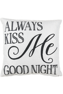 Always Kiss Me Goodnight, Pillow