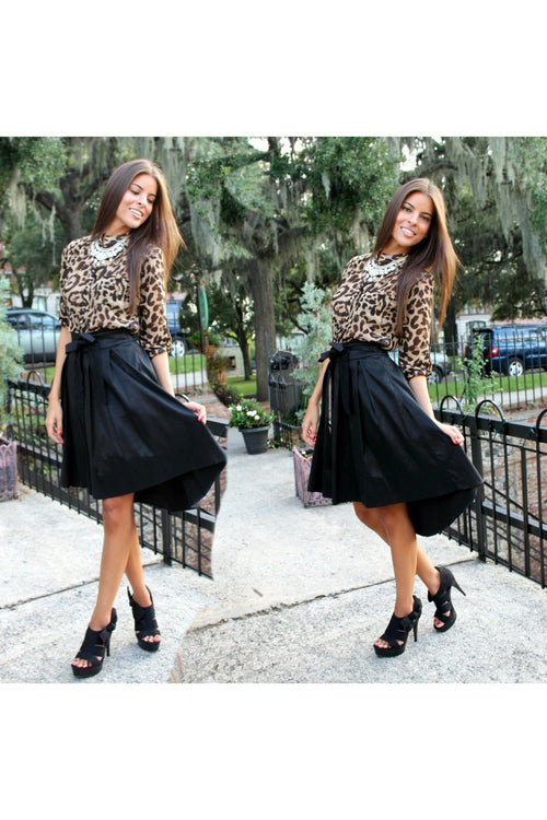 High Low Bow Skirt - RMC Boutique