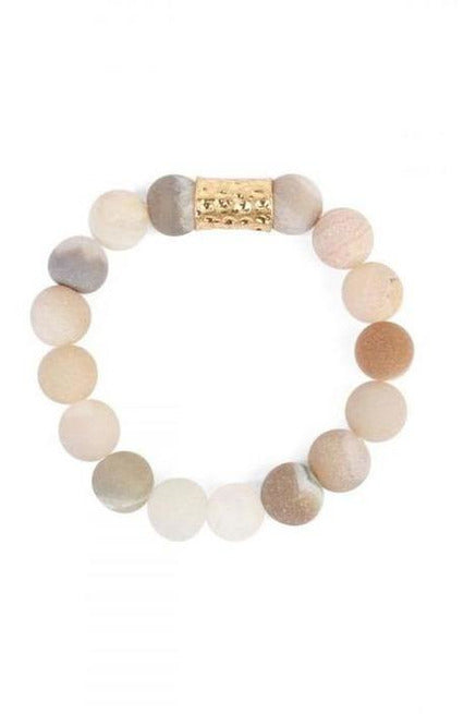Adjustable Natural Stone Bracelet