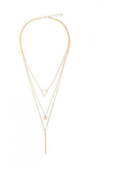 Three Layer Dainty Necklace - RMC Boutique