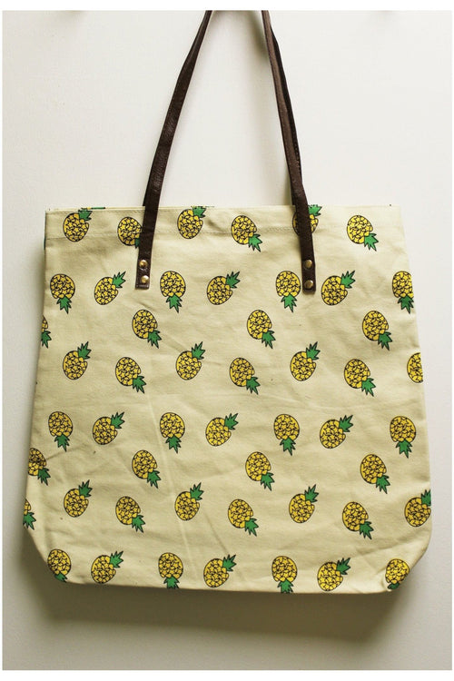 Beach Please! Pineapple Tote - RMC Boutique