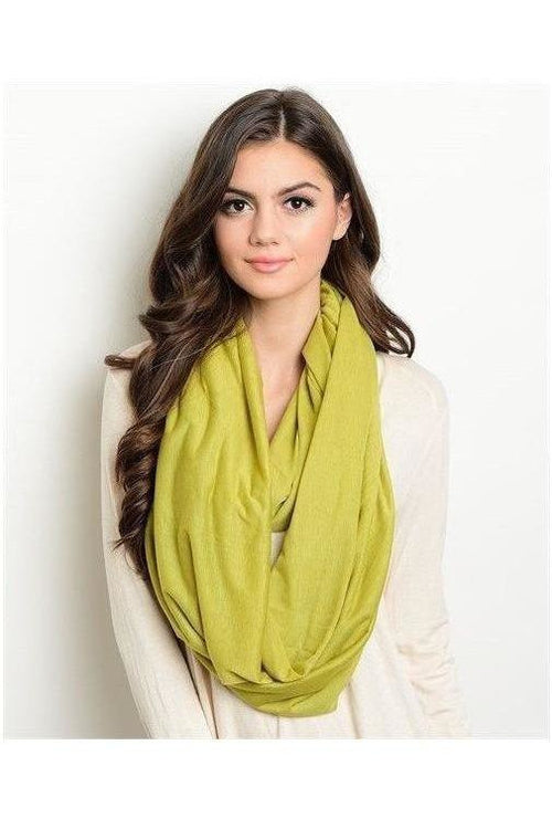 Seasons' Must-Have Scarf, Lime - RMC Boutique