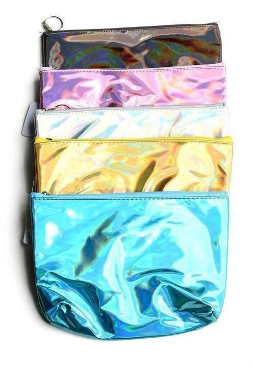 Iridescent Cosmetic Bag - RMC Boutique