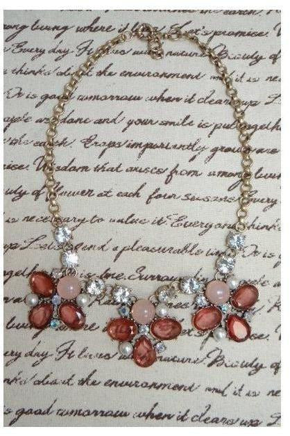 """ Just Like A Fairytale"" Bib Necklace - RMC Boutique"